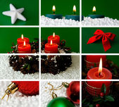 Christmas theme composition — Stockfoto