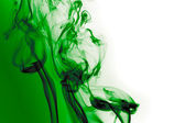 Green smoke — Stock Photo