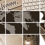 Technology and communications — Stock Photo