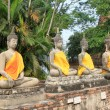 Stock Photo: Four Buddhimages