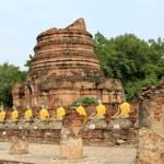 Seating Buddha images — Stock Photo #5283197