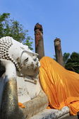 Buddha disteso — Foto Stock