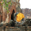 Seating Buddha image - Stockfoto