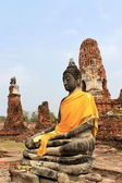 Seating Buddha image — Foto de Stock