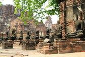 Posti a sedere immagini del buddha — Foto Stock