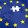 Stock Photo: EU puzzle