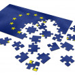 EU puzzle — Stock Photo