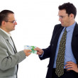Receiving payment — Stock Photo