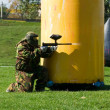 Paintball player - Photo