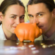 Piggy bank — Stock Photo