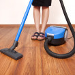 Floor cleaning — Stock Photo
