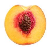 Half peach — Stock Photo