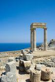 Ancient greek ruins — Stock Photo