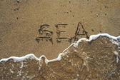 Sea concept — Stock Photo