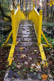 Yellow bridge — Stock Photo
