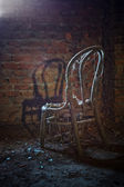 Old chair — Stock fotografie
