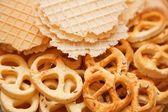 塩蔵乾燥クッキー — ストック写真