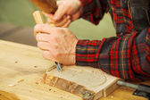 Wood carving — Stock Photo