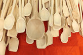 Wooden spoons — Stock Photo
