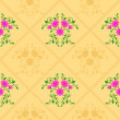 Seamless flower pattern — Stock Vector #4011219