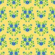 Seamless flower pattern — Stock Vector #4019432