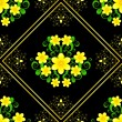 Royalty-Free Stock Vector Image: Seamless flower pattern