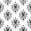 Vector de stock : Seamless flower pattern