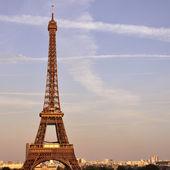 La tour eiffel — Stok fotoğraf