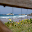 Beach zarautz — Stock Photo