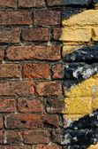 Contruction yard brick — Stock Photo