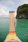 Thai longtail boat — Stock Photo
