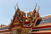 Buddha palace bangkok — Stock Photo