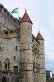Burg türme — Stockfoto