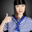 Royalty-Free Stock Photo: Chinese girl sailor