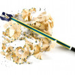 Pencil and sharpen — Stock Photo #4078327
