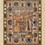 papiro — Foto Stock