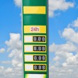 Gasoline prices — Stock Photo #4340704