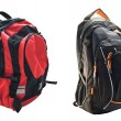 Stock Photo: Two school backpacks