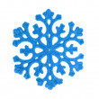 Blue snowflake — Stock Photo #4974085