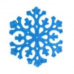 Blue snowflake — Stock Photo #4974085
