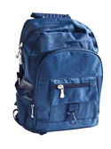 Szkolny plecak — Zdjęcie stockowe