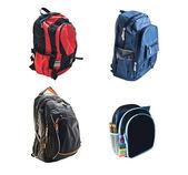 School backpacks — Stock Photo