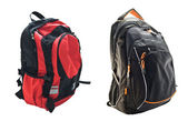 Two school backpacks — Stockfoto