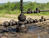 Oil-well — Stock Photo