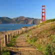 Photo: Golden gate bridge in sfrancisco, usa