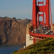 Golden gate bridge in sfrancisco, usa — Foto de stock #3959774