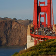 The golden gate bridge in san francisco, usa — Stock Photo #3959774