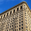 Flatiron skyscraper in new york city - Stock Photo