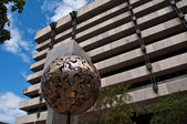 La banque centrale de services financiers d'irlande — Photo