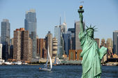 New york cityscape, tourism concept photograph — Foto de Stock